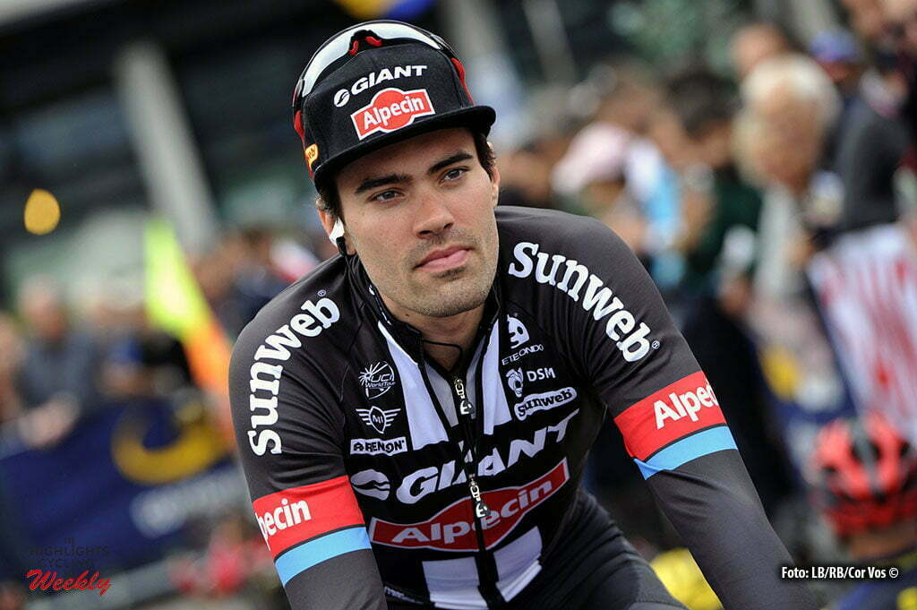 Bergamo - Italy - wielrennen - cycling - radsport - cyclisme - Tom Dumoulin (Netherlands / Team Giant - Alpecin) pictured during Il Lombardia 2016 - 110th edition - Como - Bergamo 241 km - 01/10/2016- photo Cor Vos © 2016