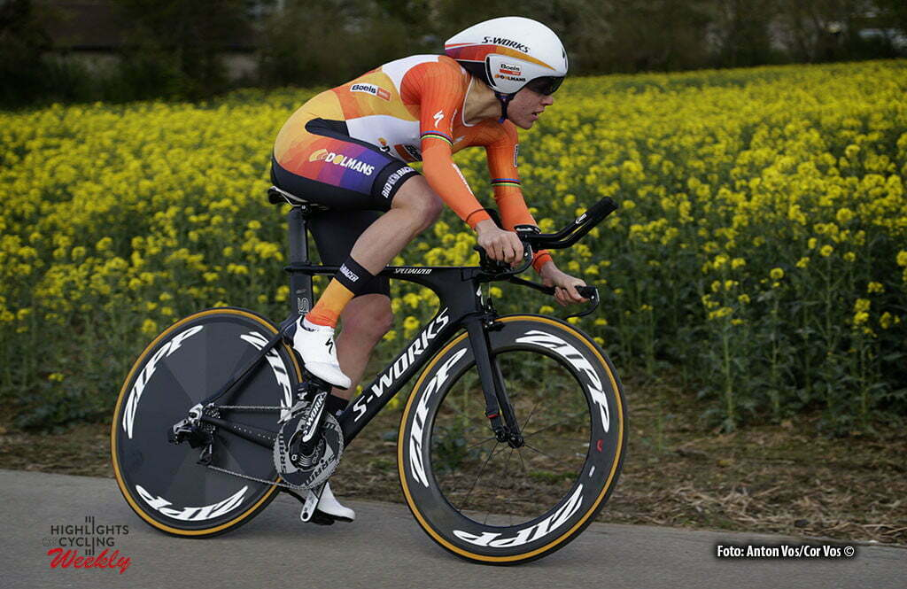 Cessange - Luxembourg - wielrennen - cycling - radsport - cyclisme - Van Dijk Ellen (Netherlands / Boels Dolmans Cycling Team) pictured during Festival Elsy Jacobs 2016 - prologue - womens cyclingrace in Cessange - photo Anton Vos/Cor Vos © 2016