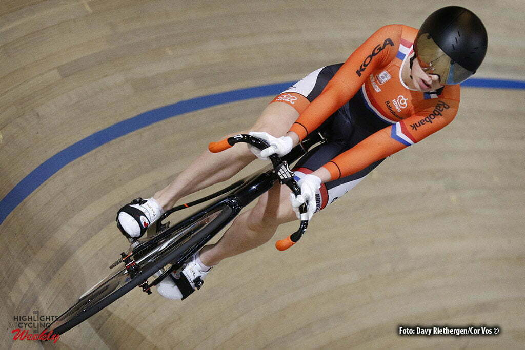 Apeldoorn - Netherlands - OmnisSport - wielrennen - cycling - radsport - cyclisme - Laurine van Riessen pictured during Dutch National Championships Track in Apeldoorn - photo Davy Rietbergen/Cor Vos © 2016