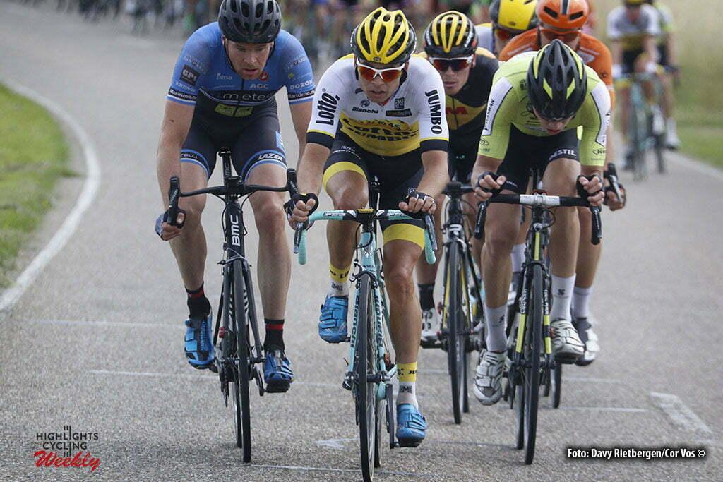 Brouwersdam - Netherlands - wielrennen - cycling - radsport - cyclisme - Bertjan Lindeman (Netherlands / Team LottoNL - Jumbo) pictured during NK Tijdrijden - Dutch National Championships road elite men - photo Anton Vos/Davy Rietbergen/ Cor Vos © 2016