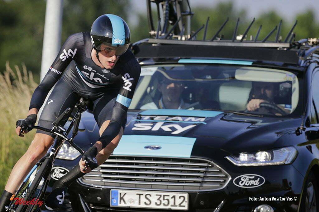 Middelharnis - Netherlands - wielrennen - cycling - radsport - cyclisme - Poels Wout (Netherlands / Team Sky) pictured during NK Tijdrijden - Dutch National Championships Tim Trial individual Elite men - photo Anton Vos/Davy Rietbergen/ Cor Vos © 2016