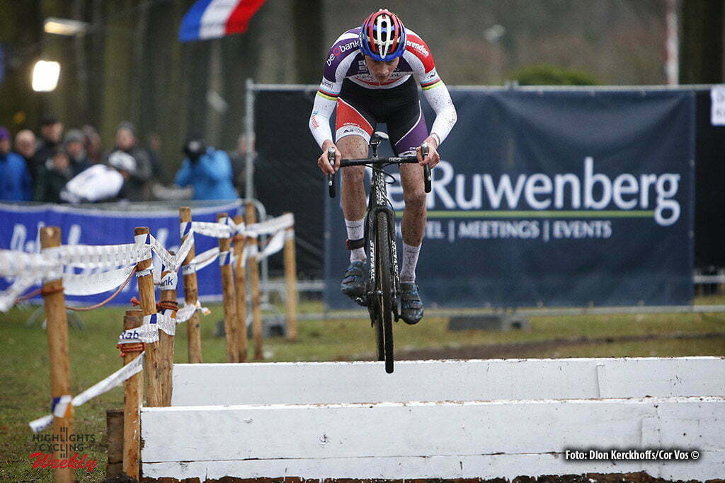 Michielsgestel - Netherlands - wielrennen - cycling - radsport - cyclisme - Mathieu van der Poel pictured during Dutch Championships Cyclocross - Elite NK Veldrijden in Sint Michielsgestel - photo Dion Kerckhoffs/Cor Vos © 2017