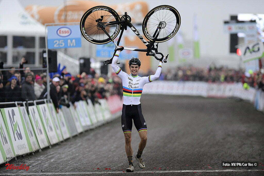 Oostende - Belgium - wielrennen - cycling - radsport - cyclisme - Van Aert Wout (BEL) of Crelan - Charles pictured during the Belgian national championships cyclocross elite men race 2017 at the Ostend Hippodrome on January 08, 2017 in Oostende, Belgium - photo NV/PN/Cor Vos © 2017