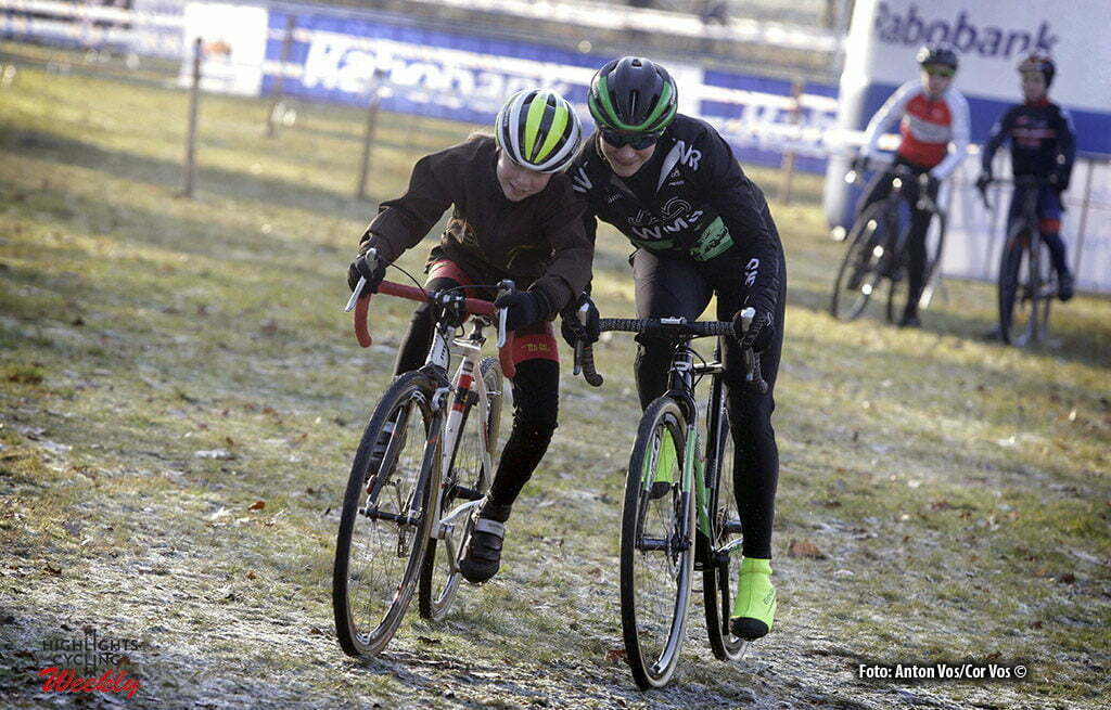 Sint - Michelsgestel - Netherlands - wielrennen - cycling - radsport - cyclisme - Marianne Vos (Team WM3 Cycling) pictured during training Dutch National Championships Cyclocross on Sunday Jan 8 2017 in Sint Michelsgestel - photo Cor Vos © 2017