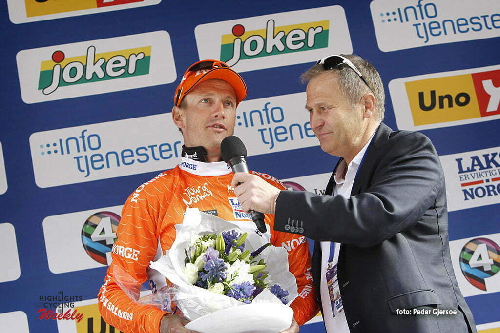 wielrennen - cycling - radsport - cyclisme - Pieter Weening (Netherlands / Roompot - Oranje Peloton) pictured during Tour of Norway - photo Peder Gjersoe/Cor Vos © 2016