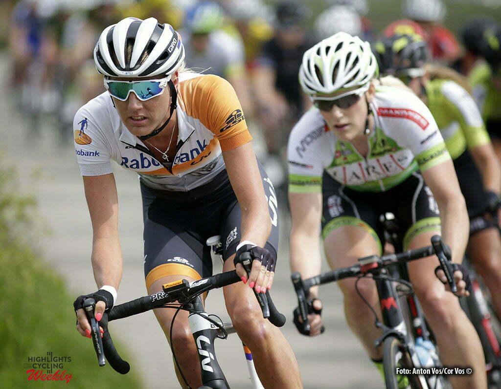 Harderwijk - Netherlands - wielrennen - cycling - radsport - cyclisme - Tenniglo Moniek (Netherlands / Rabobank Liv Women Cycling Team) pictured during De Parel van de Veluwe a one day race for women - vrouwen - feminin - photo Anton Vos/Cor Vos ©2016