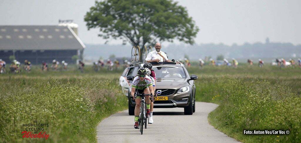 Harderwijk - Netherlands - wielrennen - cycling - radsport - cyclisme - illustration - sfeer - illustratie pictured during De Parel van de Veluwe a one day race for women - vrouwen - feminin - photo Anton Vos/Cor Vos ©2016