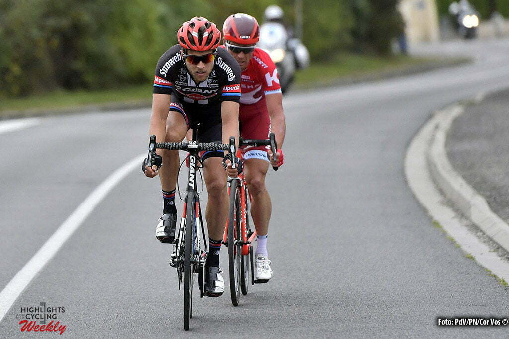 Tours - France - wielrennen - cycling - radsport - cyclisme - Bert De Backer (Belgium / Team Giant - Alpecin) picured during the 110th edition of the Paris-Tours cycling race with start in Dreux and finish in Tours on October 09, 2016 in Tours, France, 9/10/2016 - photo PdV/PN/Cor Vos © 2016