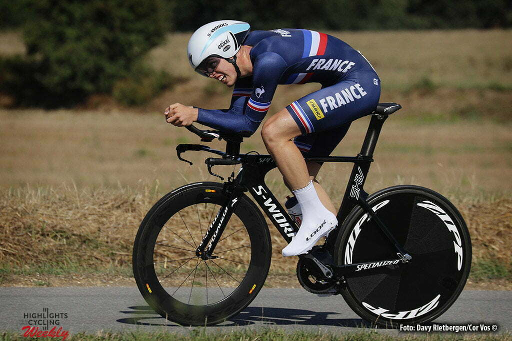 Plumelec - France - wielrennen - cycling - radsport - cyclisme - Remi Cavagna (France) pictured during Europeen Championships Cycling - Men U 23 - ITT Time Trial individual - in Plumelec, France - photo Davy Rietbergen/Cor Vos © 2016