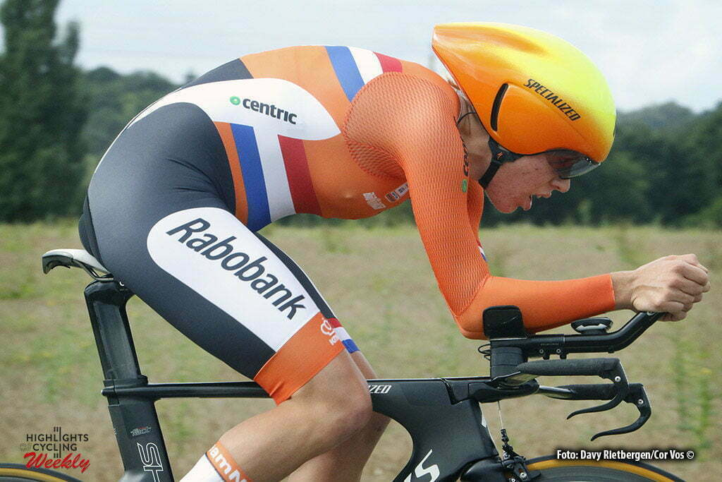Plumelec - France - wielrennen - cycling - radsport - cyclisme - Van Dijk Ellen (Netherlands / Boels Dolmans Cycling Team) pictured during Europeen Championships Cycling - Women - ITT Time Trial individual - in Plumelec, France - photo Davy Rietbergen/Cor Vos © 2016