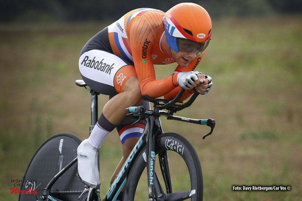 Plumelec - France - wielrennen - cycling - radsport - cyclisme - Steven Lammertink (Netherlands/Lotto Nl - Jumbo) pictured during Europeen Championships Cycling - Men Elite - ITT Time Trial individual - in Plumelec, France - photo Davy Rietbergen/Cor Vos © 2016