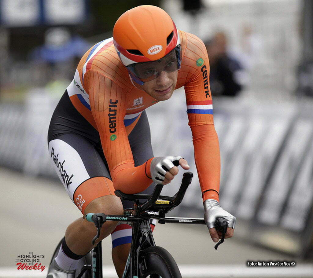 Plumelec - France - wielrennen - cycling - radsport - cyclisme - Lammertink Maurits (Netherlands / Roompot - Oranje Peloton) pictured during European Championships Cycling - Men Elite - ITT Time Trial individual - in Plumelec, France - photo Anton Vos/Cor Vos © 2016