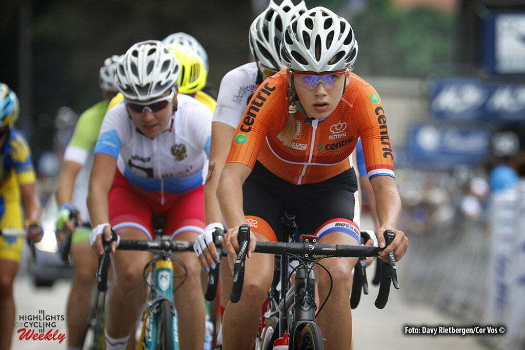 Plumelec - France - wielrennen - cycling - radsport - cyclisme - Aafke Soet (Netherlands) pictured during Europeen Championships Cycling - Roadrace women in Plumelec, France - photo Davy Rietbergen/Cor Vos © 2016