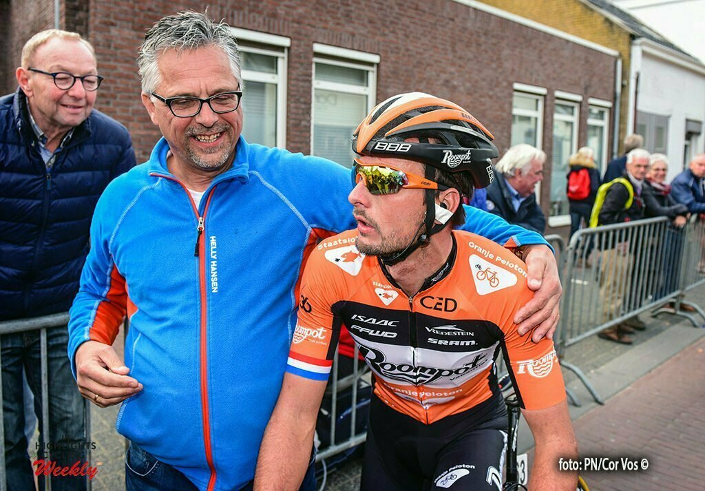 Putte-Kapellen - Belgium - wielrennen - cycling - radsport - cyclisme - Hoogerland Johnny (Netherlands / Roompot - Oranje Peloton) pictured during the 83th national sluitingsprijs Putte-Kapellen. The last race of the Napoleon Games Cycling Cup, in Putte, Belgium 11/10/2016 - photo PN/Cor Vos © 2016