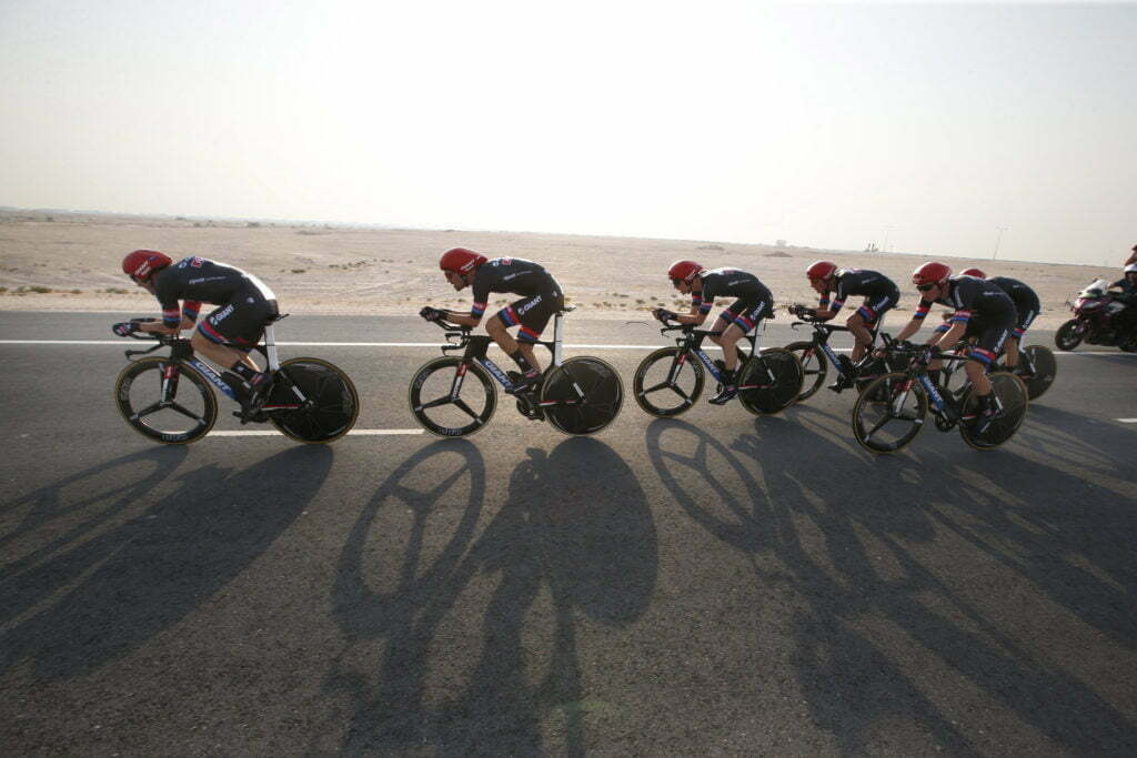 Doha - Qatar - wielrennen - cycling - radsport - cyclisme - team Giant - Alpecin pictured during TTT men Team Time Trial of the UCI Road World Championships 2016 in Qatar - photo Davy Rietbergen/Cor Vos © 2016