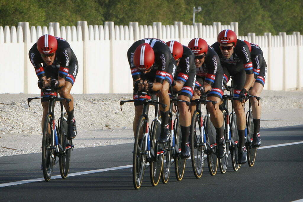 Doha - Qatar - wielrennen - cycling - radsport - cyclisme - Team Giant - Alpecin pictured during TTT men Team Time Trial of the UCI Road World Championships 2016 in Qatar - photo Dion Kerckhoffs/Cor Vos © 2016