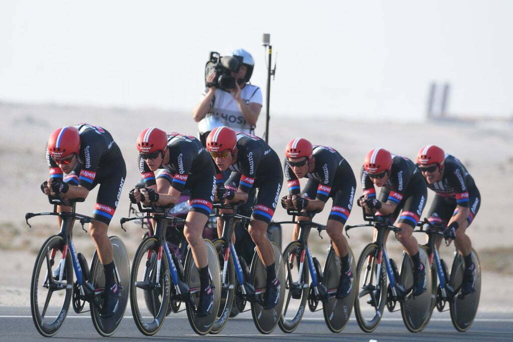 Doha - Qatar - wielrennen - cycling - radsport - cyclisme - team Giant - Alpecin pictured during TTT men Team Time Trial of the UCI Road World Championships 2016 in Qatar - photo VK/PN/Cor Vos © 2016