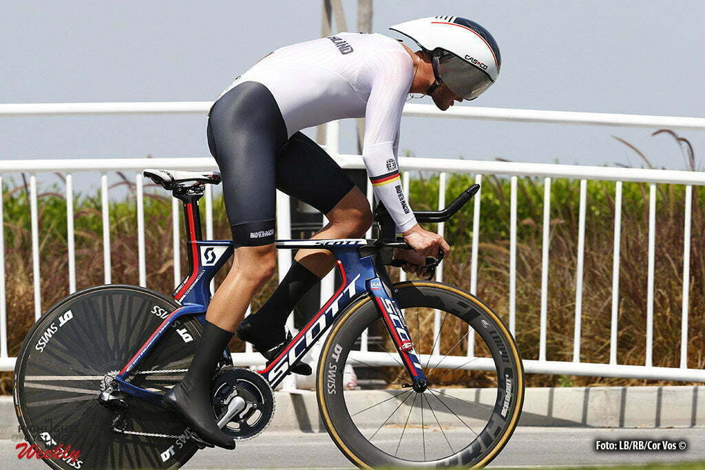 Doha - Qatar - wielrennen - cycling - radsport - cyclisme - Marco Mathis pictured during the ITT Under 23 Time Trial Individual of the UCI Road World Championships 2016 in Qatar - photo LB/RB/Cor Vos © 2016