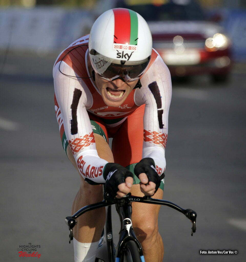 Doha - Qatar - wielrennen - cycling - radsport - cyclisme - Kiryienka Vasil (Belarus / Team Sky)pictured during ITT men Time Trial Individual of the UCI Road World Championships 2016 in Qatar - photo Anton Vos/Cor Vos © 2016