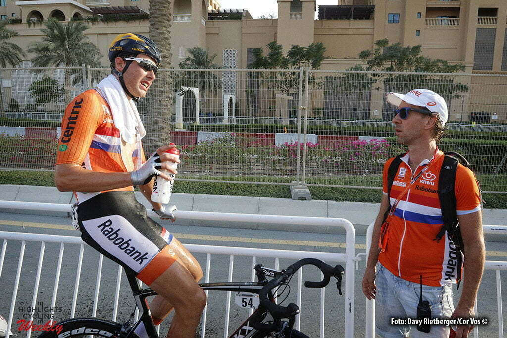 Doha - Qatar - wielrennen - cycling - radsport - cyclisme - Jan-Willem van Schip (NED) pictured during roadrace U 23 of The UCI Road World Championships 2016 in Qatar - photo Davy Rietbergen/Cor Vos © 2016
