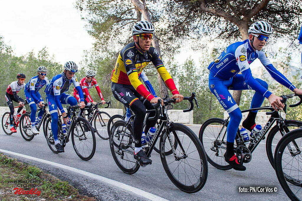 Calpe - Spain - wielrennen - cycling - radsport - cyclisme - Philippe Gilbert pictured during a training session of the Quick Step Floors cycling team around Calpe in Spain - photo PN/Cor Vos © 2017