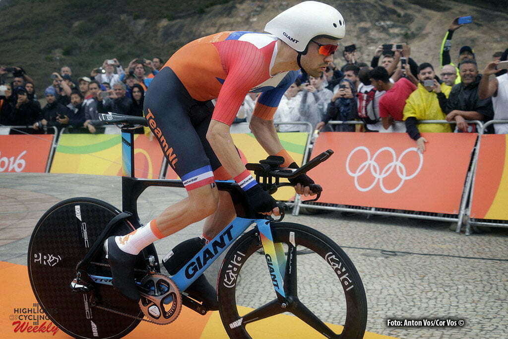 Rio de Janeiro - Brasil - wielrennen - cycling - radsport - cyclisme - Tom Dumoulin (Netherlands / Team Giant - Alpecin) pictured during men's ITT - Olympic Games 2016 in Rio - photo Anton Vos/Cor Vos © 2016