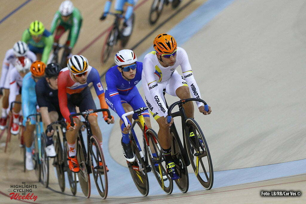 Rio de Janeiro - Brasil - wielrennen - cycling - radsport - cyclisme - Men's Omnium Scratch Race - 14/08/2016 - Fernando Gaviria (Colombia) pictured during track day-4 - Olympic Games 2016 in Rio - photo LB/RB/Cor Vos © 2016
