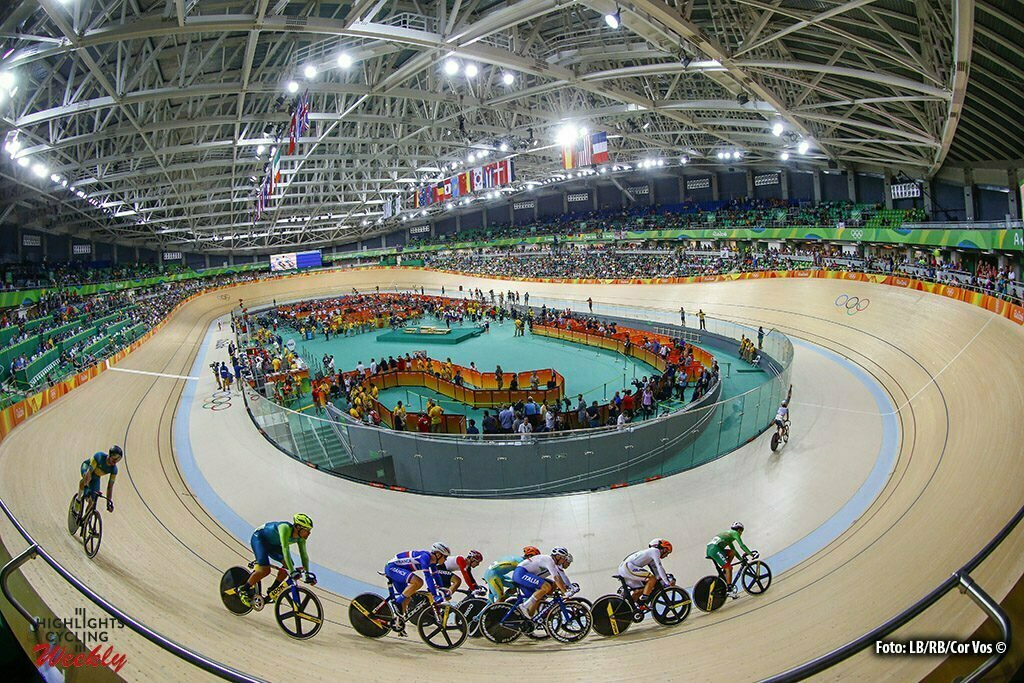 Rio de Janeiro - Brasil - wielrennen - cycling - radsport - cyclisme - Men's Omnium Elimination Race - 14/08/2016 illustration - sfeer - illustratie pictured during track day-4 - Olympic Games 2016 in Rio - photo LB/RB/Cor Vos © 2016