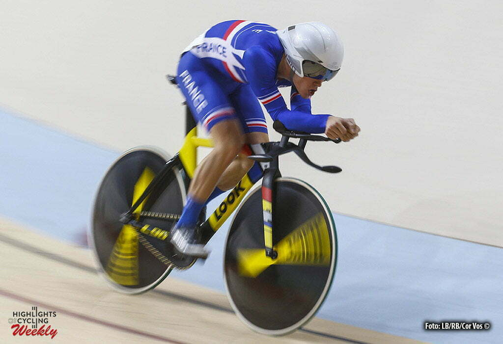 Rio de Janeiro - Brasil - wielrennen - cycling - radsport - cyclisme - Men's Omnium Individual Pursuit - 14/08/2016 - Thomas Boudat (Francia) pictured during track day-4 - Olympic Games 2016 in Rio - photo LB/RB/Cor Vos © 2016