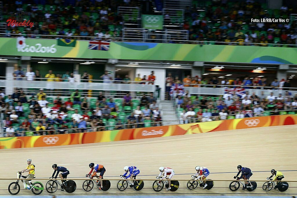 Olimpiadi Rio 2016 - Rio de Janeiro - Pista - Men's Keirin - 16/08/2016 - Veduta - foto Luca Bettini/BettiniPhoto©2016