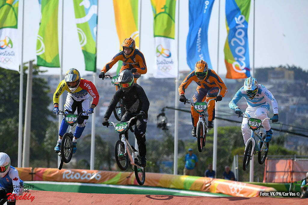 Rio de Janeiro - Brasil - wielrennen - cycling - radsport - cyclisme - illustration - sfeer - illustratie of the men's BMX at the Olympic BMX Centre of the Rio 2016 Summer Olympic Games on August 19, 2016 in Rio de Janeiro, Brazil. 19/08/2016 - photo VK/PN/Cor Vos © 2016