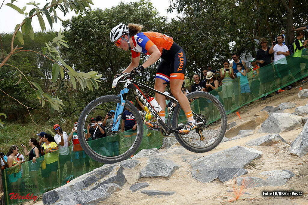 Rio de Janeiro - Brasil - wielrennen - cycling - radsport - cyclisme - Anne Terpstra (Netherlands) Mountain Bike - Women's Cross-Country - 20/08/2016 of the Rio 2016 Summer Olympic Games on August 19, 2016 in Rio de Janeiro, Brazil. 19/08/2016 - photo LB/RB/Cor Vos © 2016