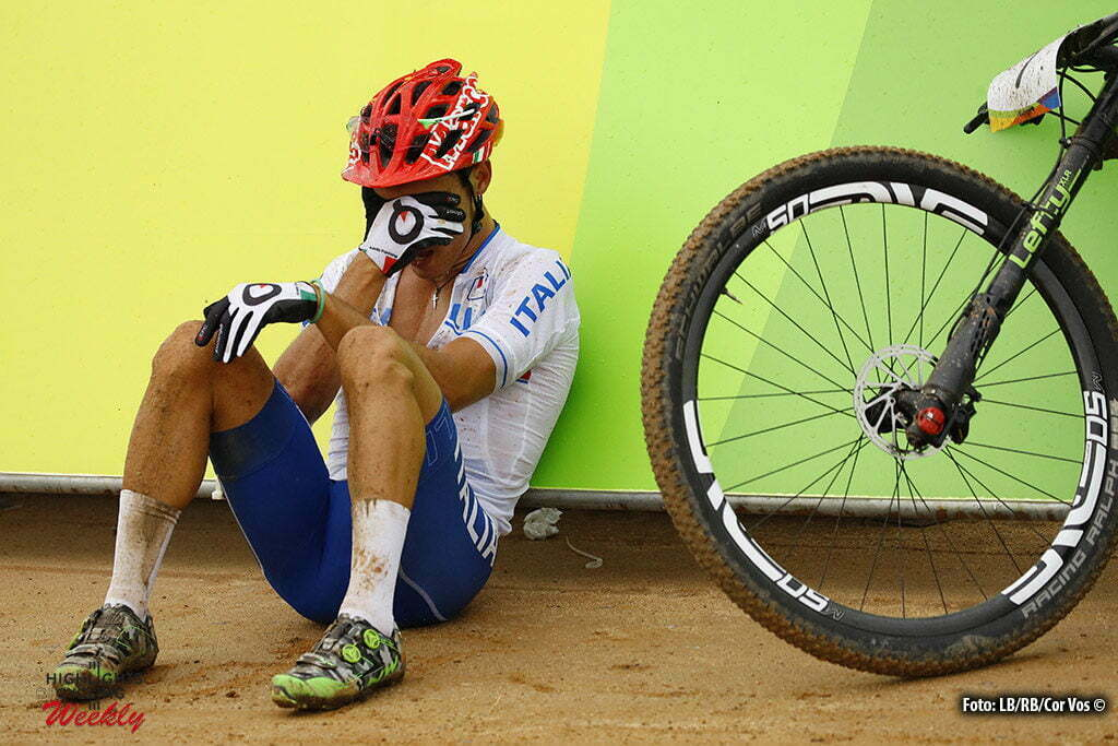 Rio de Janeiro - Brasil - wielrennen - cycling - radsport - cyclisme - Marco Aurelio Fontana (Italia) Mountain Bike - men's Cross-Country - 20/08/2016 of the Rio 2016 Summer Olympic Games on August 19, 2016 in Rio de Janeiro, Brazil. 19/08/2016 - photo LB/RB/Cor Vos © 2016