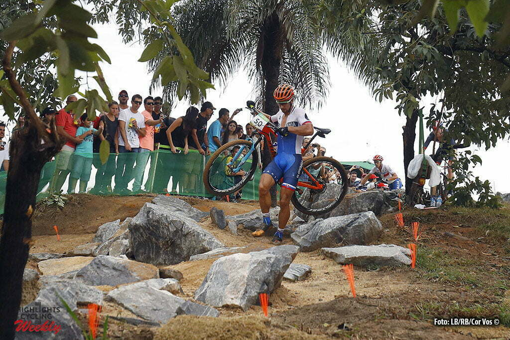 Rio de Janeiro - Brasil - wielrennen - cycling - radsport - cyclisme - Peter Sagan Mountain Bike - men's Cross-Country - 20/08/2016 of the Rio 2016 Summer Olympic Games on August 19, 2016 in Rio de Janeiro, Brazil. 19/08/2016 - photo LB/RB//Cor Vos © 2016