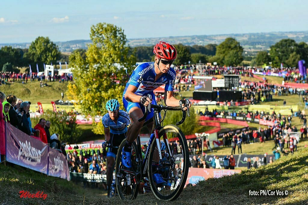 Ronse - Belgium - wielrennen - cycling - radsport - cyclisme - Lars Van Der Haar pictured during the Cyclocross race GP Mario De Clercq on the Hotondberg in Kluisbergen, Belgium, 09/10/2016 - photo PN/Cor Vos © 2016