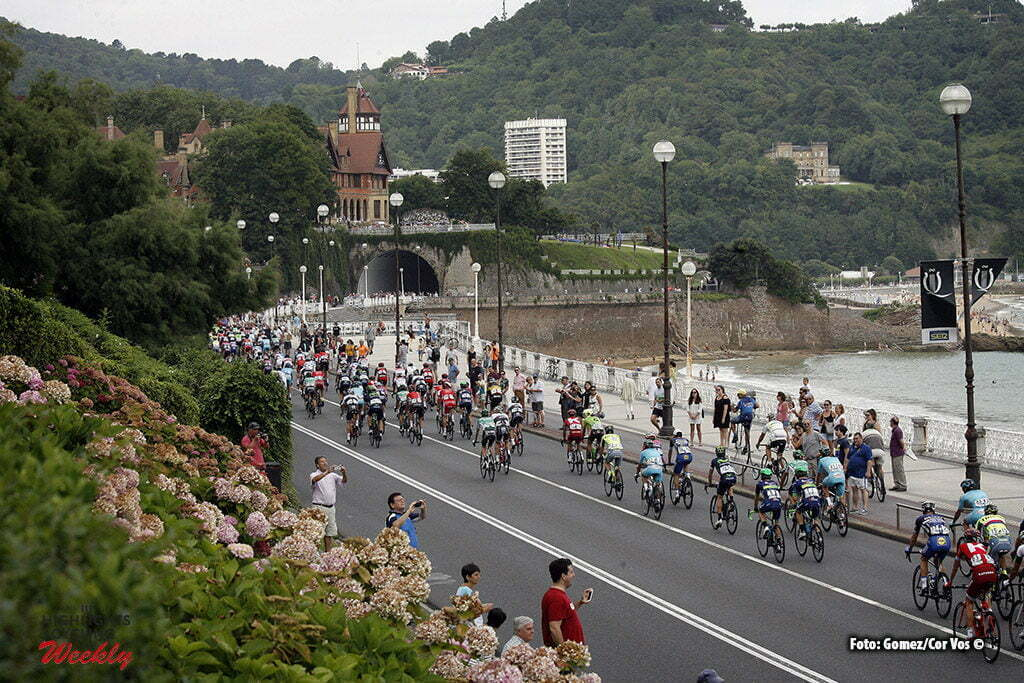 San Sebastian - Spain - wielrennen - cycling - radsport - cyclisme - illustration - sfeer - illustratie pictured during Clasica Ciclista San Sebastian 2016 in San Sebastian, Spain - photo: Luis Angel Gomez/Cor Vos © 2016