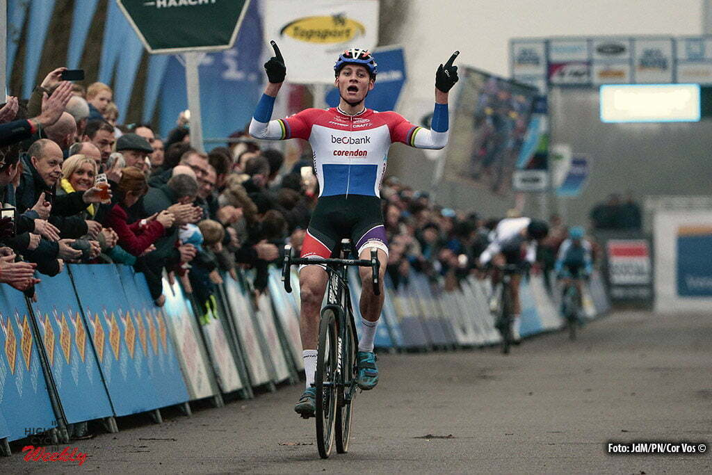 Anterpen - Belgium - wielrennen - cycling - radsport - cyclisme - Van Der Poel Mathieu (NED) of Beobank - Corendon pictured during DVV Trofee - Schelde-Cross Antwerpen 2016 men - photo JdM/Cor Vos © 2016