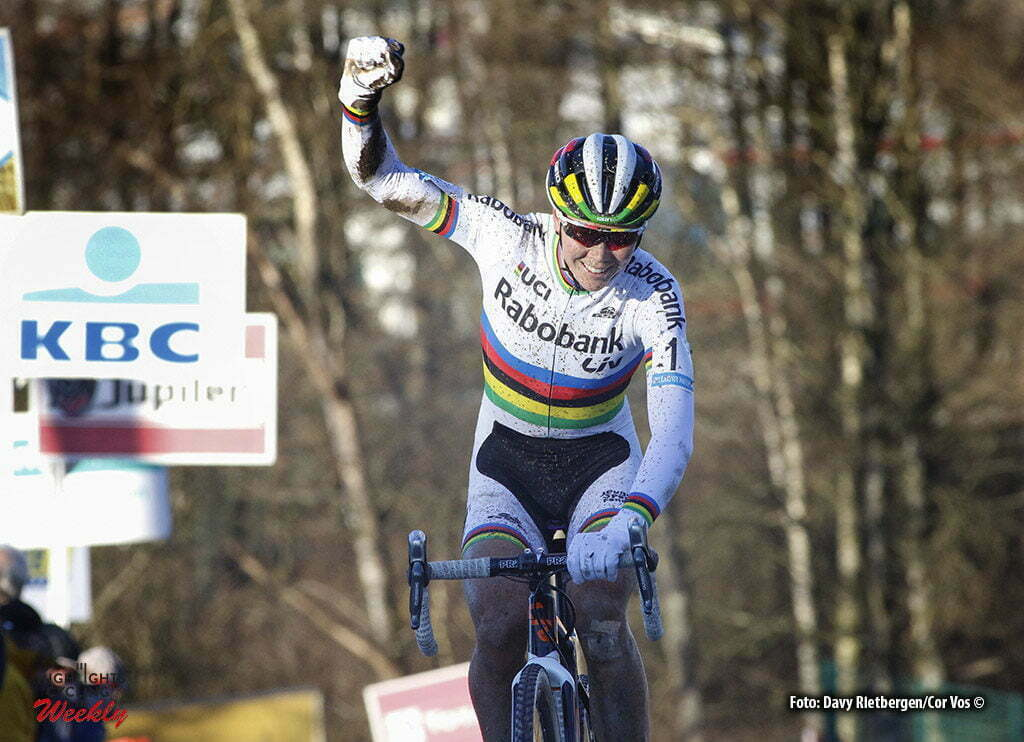 Francorchamps - Belgium - wielrennen - cycling - radsport - cyclisme - Thalita De Jong pictured during the Hansgrohe Superprestige Ladies Trophy cyclocross race in Spa - Francorchamps, Belgium- photo Davy Rietbergen/Cor Vos © 2016