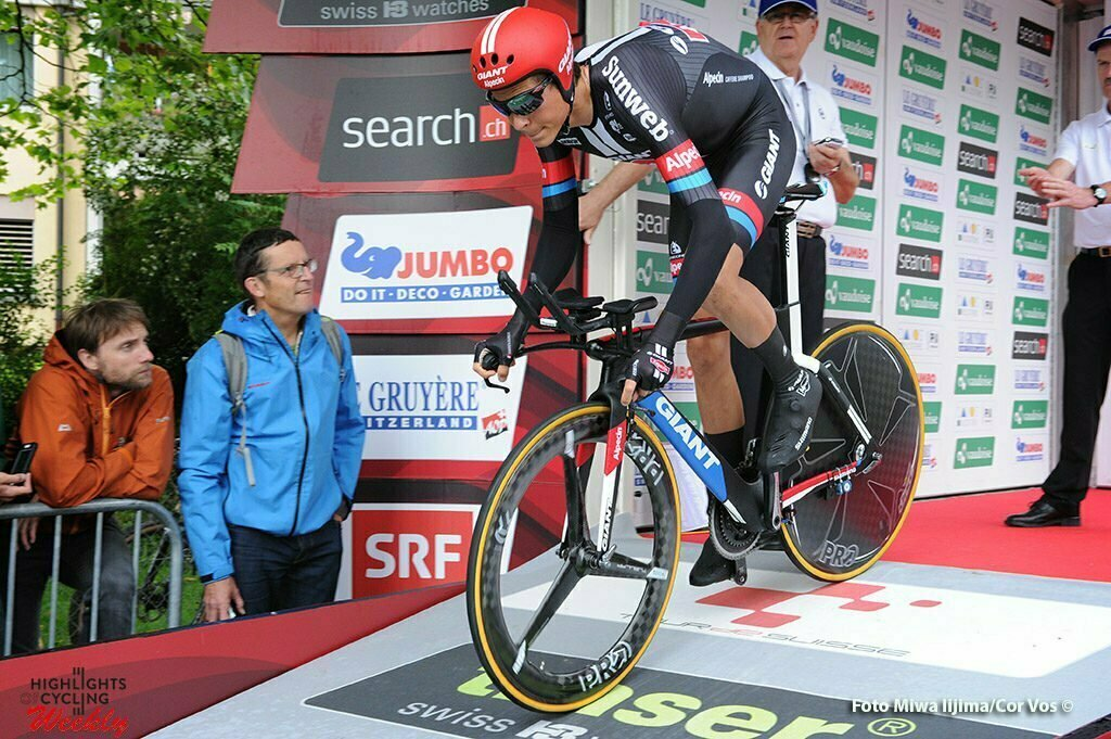 Baar - Switserland - wielrennen - cycling - radsport - cyclisme - Warren Barguil (France / Team Giant - Alpecin) pictured during stage 1 of the Tour de Suisse 2016 from Baar to Baar (6,4 km) ITT Team Trial Individual - photo Miwa IIjima/Cor Vos © 2016