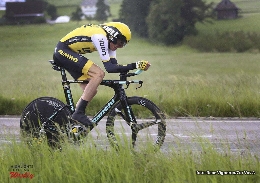 Baar - Switserland - wielrennen - cycling - radsport - cyclisme - Robert Gesink (Netherlands / Team LottoNL - Jumbo) pictured during stage 1 of the Tour de Suisse 2016 from Baar to Baar (6,4 km) ITT Team Trial Individual - photo Rene Vigneron/Cor Vos © 2016