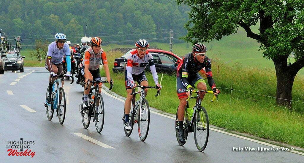 Baar - Switserland - wielrennen - cycling - radsport - cyclisme - escape groepen Antwan Tolhoek (Netherlands / Roompot - Oranje Peloton) pictured during stage 2 of the Tour de Suisse 2016 from Baar to Baar (187,6 km) - photo Miwa IIjima/Cor Vos © 2016