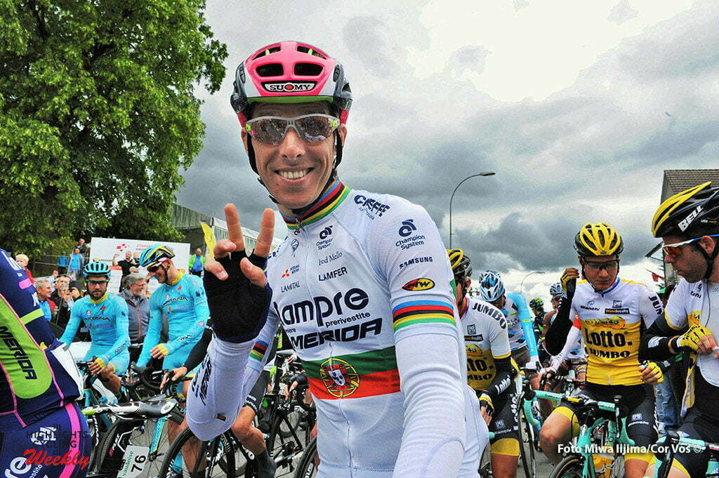 Rheinfelden - Switserland - wielrennen - cycling - radsport - cyclisme - Rui Alberto Faria Da Costa (Portugal / Team Lampre - Merida) pictured during stage 3 of the Tour de Suisse 2016 from Grosswangen to Rheinfelden (192.6 km) - photo Miwa IIjima/Cor Vos © 2016