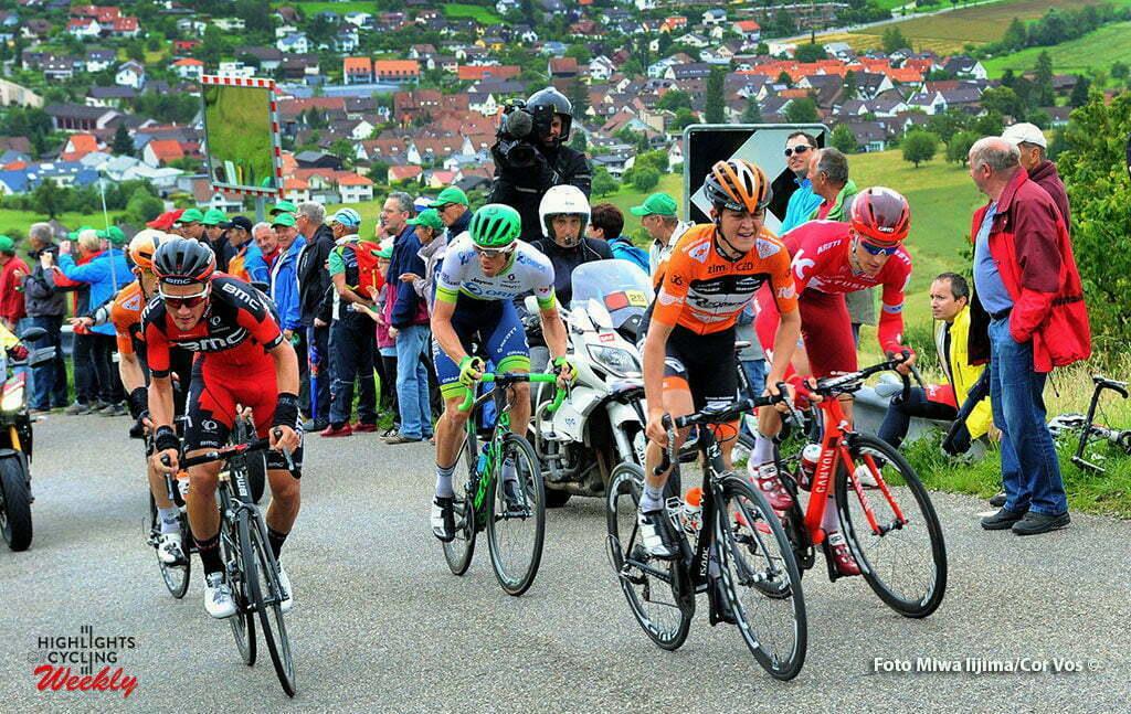 Rheinfelden - Switserland - wielrennen - cycling - radsport - cyclisme - Antwan Tolhoek (Netherlands / Roompot - Oranje Peloton) pictured during stage 3 of the Tour de Suisse 2016 from Grosswangen to Rheinfelden (192.6 km) - photo Miwa IIjima/Cor Vos © 2016