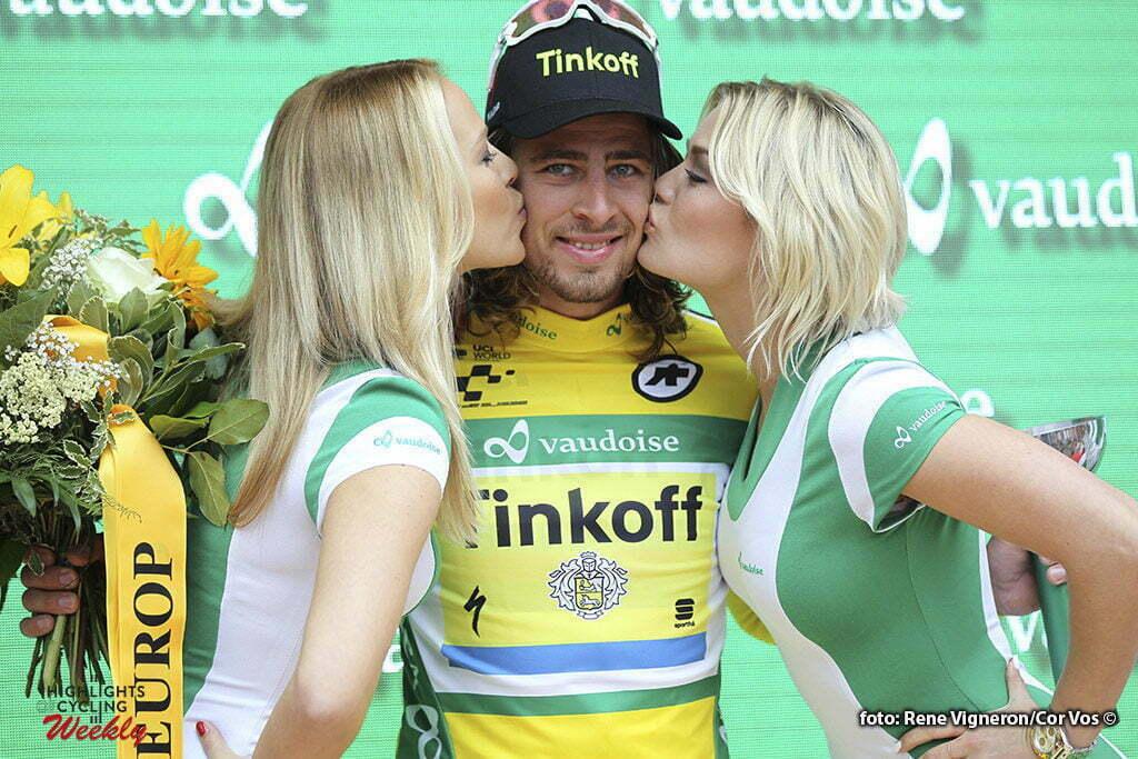 Rheinfelden - Switserland - wielrennen - cycling - radsport - cyclisme - Peter Sagan (Slowakia / Team Tinkoff - Tinkov) pictured during stage 3 of the Tour de Suisse 2016 from Grosswangen to Rheinfelden (192.6 km) - photo Rene Vigneron/Cor Vos © 2016