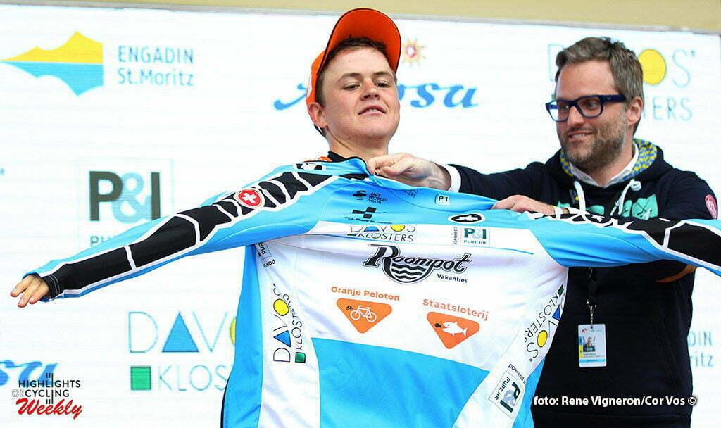 Rheinfelden - Switserland - wielrennen - cycling - radsport - cyclisme - Antwan Tolhoek (Netherlands / Roompot - Oranje Peloton) pictured during stage 3 of the Tour de Suisse 2016 from Grosswangen to Rheinfelden (192.6 km) - photo Rene Vigneron/Cor Vos © 2016