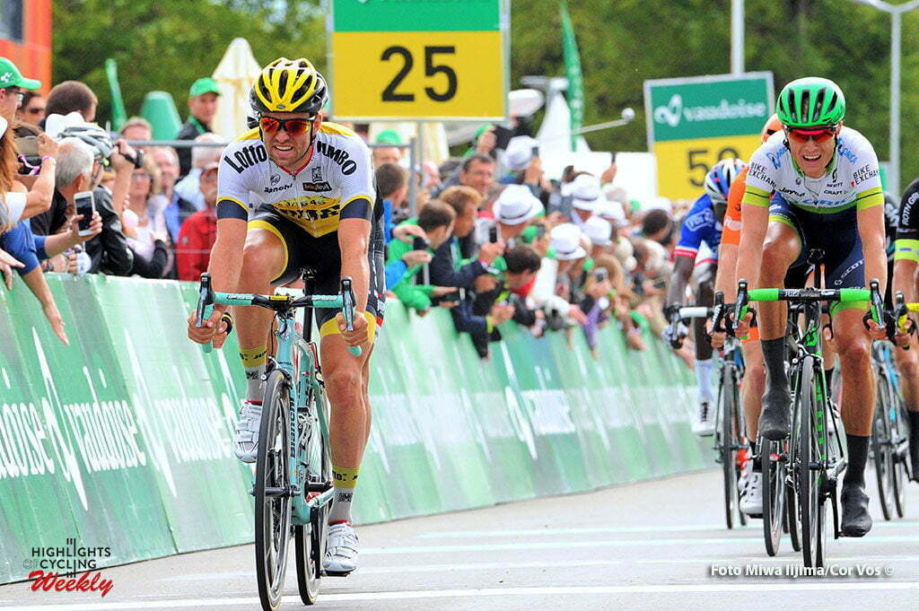 Champagne - Switserland - wielrennen - cycling - radsport - cyclisme - Tom Van Asbroeck (Belgium / Team LottoNL - Jumbo) pictured during stage 4 of the Tour de Suisse 2016 from Rheinfelden to Champagne (193 km) - photo Miwa IIjima/Cor Vos © 2016