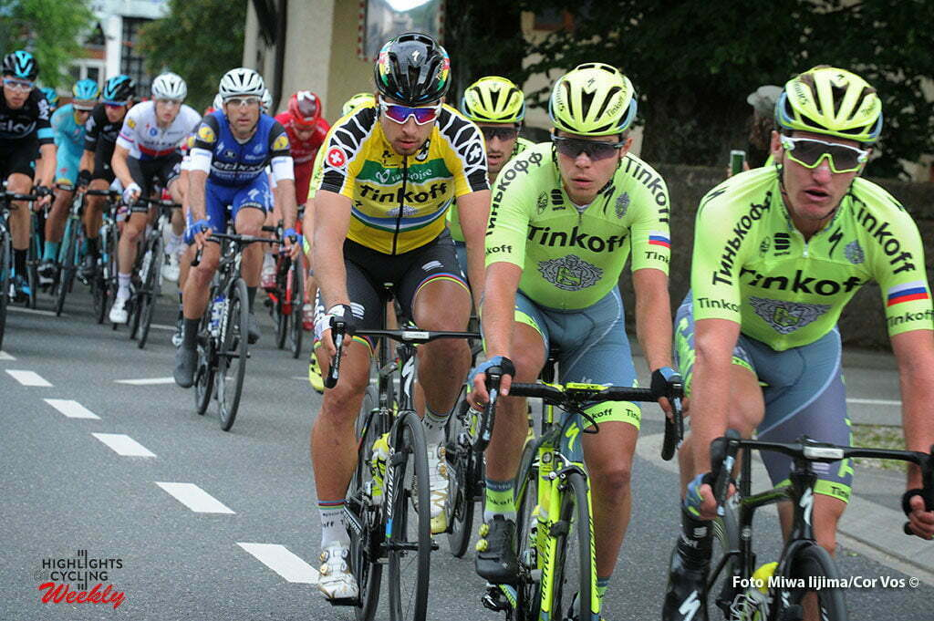 Champagne - Switserland - wielrennen - cycling - radsport - cyclisme - Peter Sagan (Slowakia / Team Tinkoff - Tinkov) pictured during stage 4 of the Tour de Suisse 2016 from Rheinfelden to Champagne (193 km) - photo Miwa IIjima/Cor Vos © 2016