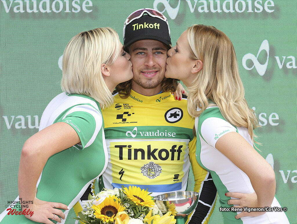 Champagne - Switserland - wielrennen - cycling - radsport - cyclisme - Sagan Peter (Slowakia / Team Tinkoff - Tinkov) pictured during stage 4 of the Tour de Suisse 2016 from Rheinfelden to Champagne (193 km) - photo Rene Vigneron/Cor Vos © 2016