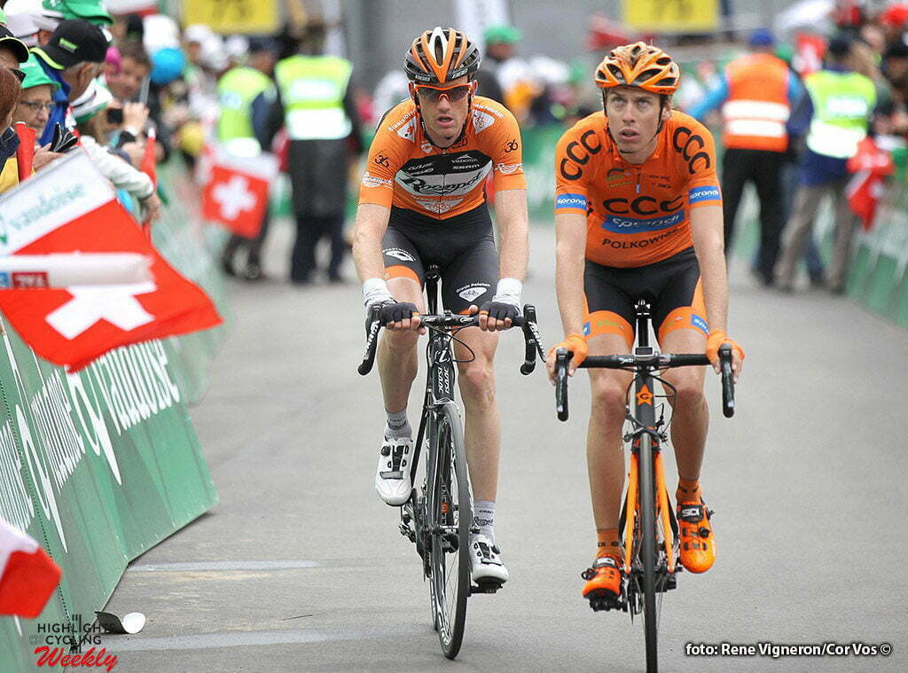 Carì - Switserland - wielrennen - cycling - radsport - cyclisme - Pieter Weening (Netherlands / Roompot - Oranje Pelotont pictured during stage 5 of the Tour de Suisse 2016 from Brig-Glis to Carì (126,4 km) - photo Rene Vingeron/Cor Vos © 2016