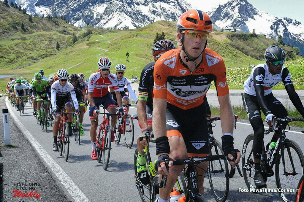 Solden - Austria - wielrennen - cycling - radsport - cyclisme - Huub Duijn (Netherlands / Roompot - Oranje Peloton) pictured during stage 7 of the Tour de Suisse 2016 from Arbon to Solden (224.3 km) - photo Miwa IIjima/Cor Vos © 2016